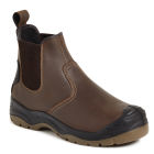 Apache AP715SM Brown Safety Dealer Boot