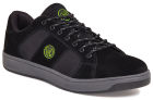 Apache Kick Black Suede Cup Sole Safety Trainer