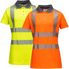 Portwest LW72 Ladies Hi-Vis Pro Polo Shirt