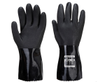 A882 ESD PVC Chemical Gauntlet - Black