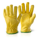 QLDGN Quality Lined Drivers Glove Yellow