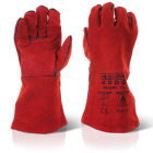 C2WRP Welders Patch Palm Red